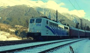 Winter-Autoreisezug - Foto: Urlaubs-Express / Train4You